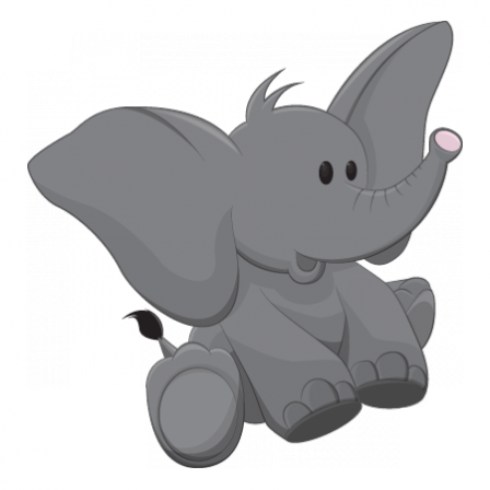 Stickers BEBE Elephant1