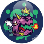 Badge Dinox KIng