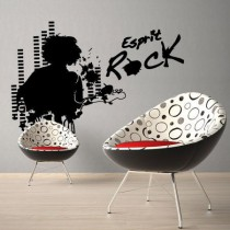 Stickers Esprit rock