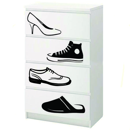 stickers chaussures stickers malin. Black Bedroom Furniture Sets. Home Design Ideas