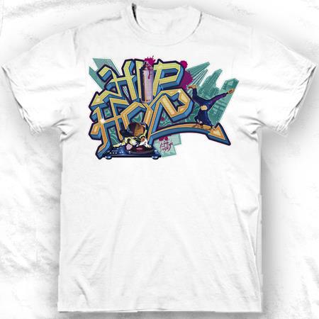 Tee-shirt enfant Hip-Hop Doggy Graffiti -