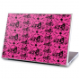 Stickers Pc skull fuschia