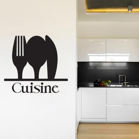 Stickers Couvert Cuisine Stickers Malin