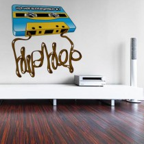 Stickers Hip hop Tape