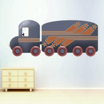 Stickers Roulez Petits Bolides-Camion