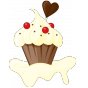 Stickers GREED Cupcake 2