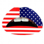 Lip Tattoo USA GL034