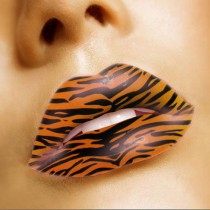 Lip Tattoo Tiger GL079