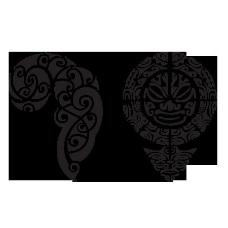 tatouages temporaires maori stickers malin. Black Bedroom Furniture Sets. Home Design Ideas