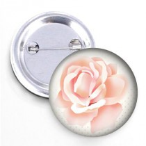 Badge - Collection les Fleurs- Rose #1