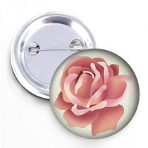 Badge - Collection les Fleurs- Rose #2