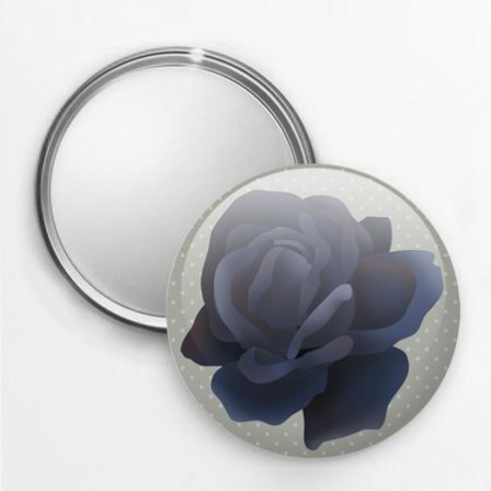 Miroir De Poche Collection Les Fleurs Rose 3