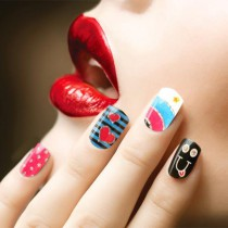 Nail Sticker Smiley 61