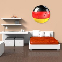 Stickers Ballon foot Allemagne