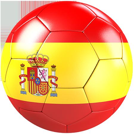 Stickers Ballon foot Espagne - Stickers Malin