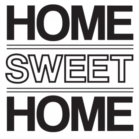 Stickers CITATION Home sweet Home