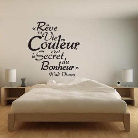 stickers citation r ve disney stickers malin. Black Bedroom Furniture Sets. Home Design Ideas