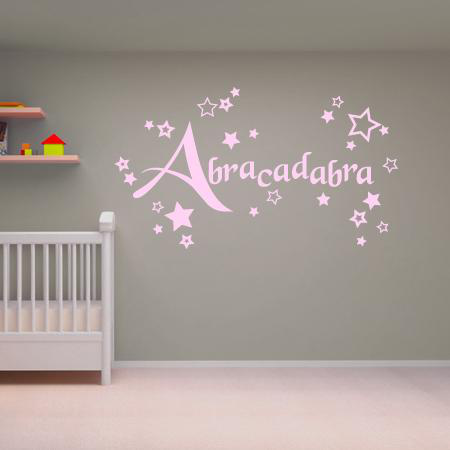 stickers abracadabra stickers malin. Black Bedroom Furniture Sets. Home Design Ideas