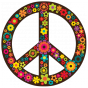Stickers HIPPIE Peace