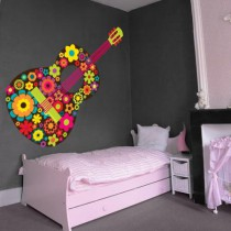 Stickers HIPPIE Guitare
