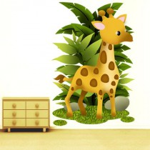 Stickers Collection Jungle - La girafe