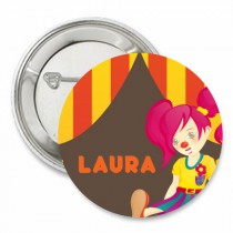 Badge cirque fille