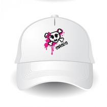 Casquette rock girly