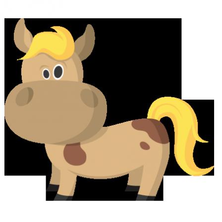 Stickers ferme cheval rigolo stickers malin - Cheval rigolo ...