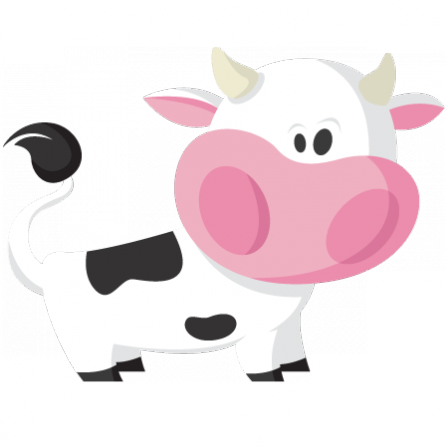 Stickers ferme vache rigolote stickers malin - Photo vache rigolote ...