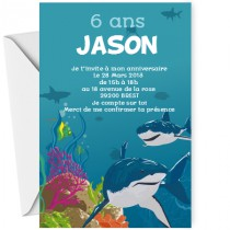 Invitation requin
