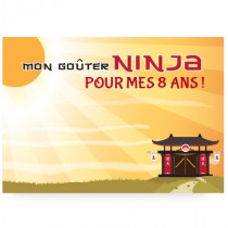 Lot de 4 ou 8 sets de table ninja