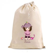 Sac coton miss pirate