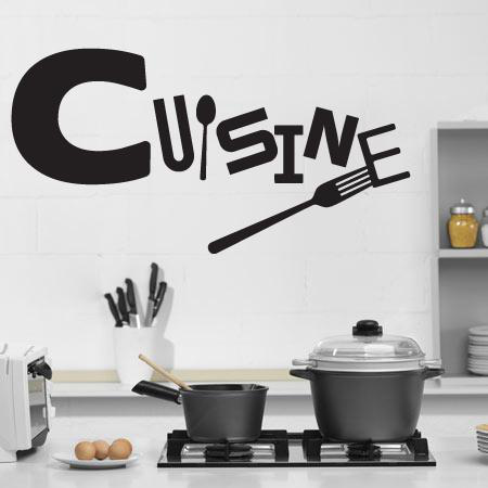 stickers cuisine a manger stickers malin. Black Bedroom Furniture Sets. Home Design Ideas