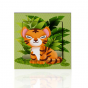 stickers interrupteur -collection Jungle- tigre