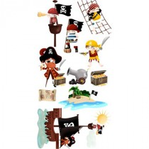 stickers collection - les pirates - planche-2