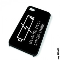 Coque iPhone 4 LOW BATTERY