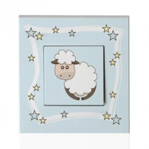 Stickers Interrupteur Animaux de la ferme - Mouton
