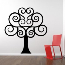 Stickers Arbre Rond