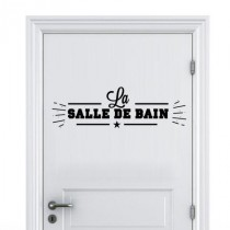 Stickers Homme Bain