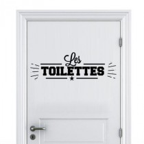 Stickers Toilette Homme
