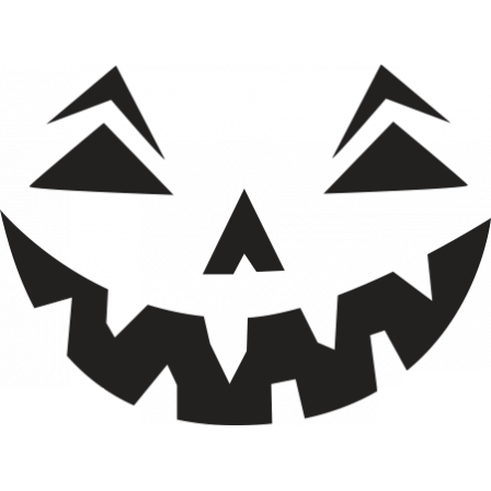 stickers citrouille face halloween stickers malin. Black Bedroom Furniture Sets. Home Design Ideas
