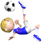 Stickers Footballeur France 5