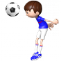 Stickers Footballeur France 6