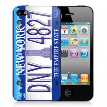 Stickers iPhone New-York plaque d'immatriculation