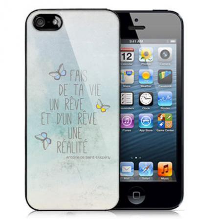 coque iphone 5 phrase