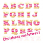 Stickers GREED Glace ( 1 lettre )