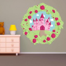 Stickers FLOWERY Tableau chateau