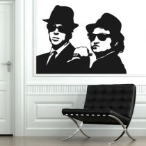 Stickers Blues Brothers