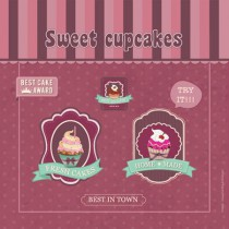 Poster Sweet cupcakes