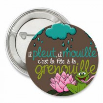 Badge Grenouille